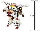 Супер крылья Джетт и его друзья самолет трансформер Белло оригинал из США Auldey Super Wings Bello, фото 4