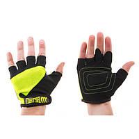Перчатки для фитнеса Matsa Sareno MSF-1008 (р.S, зеленые)
