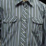 Рубашка мужская в зеленую полоску Lerros XL, фото 1