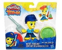 Набор для творчества и пластилин Play-Doh Город Полицейский B5979