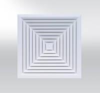 Анемостат пластинчатый квадратный ALCM
