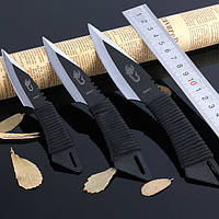 Набор метательных ножей  (3 в 1) + чехол, походные, туристические, метательные ножи