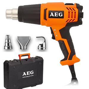 Фен промышленный AEG HG 600VK