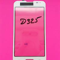 LG D325 Optimus L70 Dual sim сенсорный экран белый