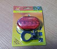 Велосипедный фонарь задний, стоп+ крепление