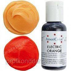 Гелевый краситель Америколор 21мл Оранжевый электрик