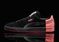 Женские кроссовки Puma Staple x Suede Pigeon black, фото 1