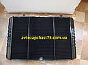 Радиатор Газель, Газ 3302 , Соболь (3-х рядный, медно-латунный) под рамку на штырях (Оренбург, Россия), фото 3