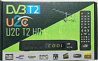 Приставка для цифрового телевидения U2C-T2/HD+Enternet Wi-Fi
