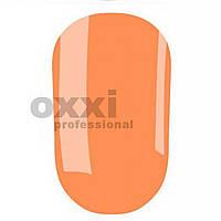 Гель лак Oxxi №185(яркий оранжевый, неоновый)