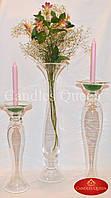 Ваза-перевертыш, ваза-подсвечник, ваза для флористики, фото 1