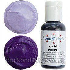 Гелевый краситель Америколор 21мл Королевский фиолетовый