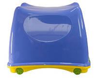 """Ящик для игрушек """"Супер-Пупер"""" голубой, TM Idea"""