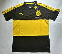 Мужские поло с пуговицами Puma Borussia Dortmund 16-17