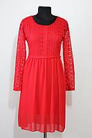 Червона сукня JW Moda з мереживом (Італія)