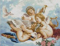 """Набор алмазной живописи  """"Ангелы на облаках"""""""