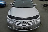 Дефлектор капота (мухобойка) Toyota Camry 2006-2011, на крепежах