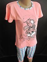 Красивые летние пижамы с бриджами., фото 1