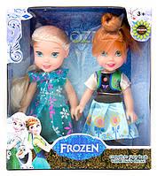 """Набор кукол в коробке: """"Little Frozen"""" Анна и Эльза из мультфильма """"Холодное сердце"""" Дисней."""