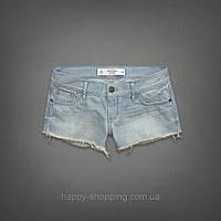 Короткие джинсовые шорты Abercrombie & Fitch