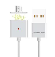 Магнитный usb кабель Wsken micro usb  с индикацией
