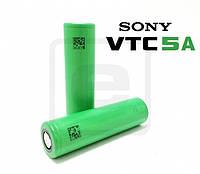 Аккумулятор 18650 / 2600 mAh / без защиты / 35А / плоский + / Sony VTC5А