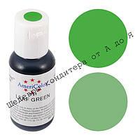 Гелевый краситель Америколор 21мл Зеленый лист