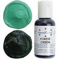 Гелевый краситель Америколор 21мл Зеленый лес