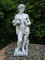 Садовая скульптура Бог строительства 30X22X84 cm