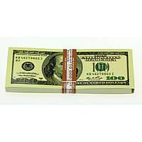 Пачка 100 баксов - блокнот с отрывными листками