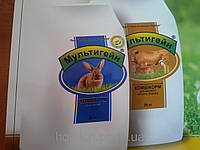 Комбикорм для крольчат тм Мультигейн
