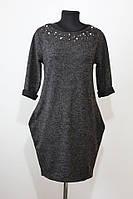 Темно-сіра сукня з боковими кишенями Sweetissima (Італія) S/M