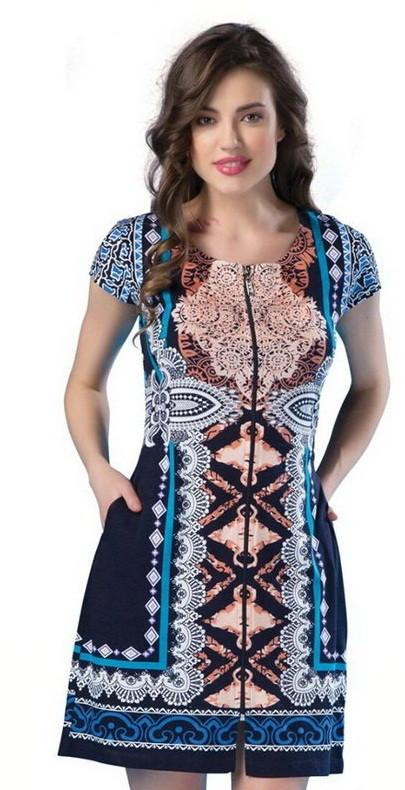 Модный женский летний халат-Турция-Новинка