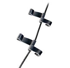 Крепление для монтажа кабеля в трубах алюминиевое