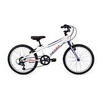 "Велосипед 20"" Apollo Neo boys Geared Gloss White/Gloss Navy Blue/Gloss Red"