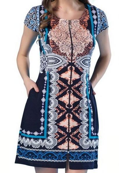 купить Модный женский летний халат-Турция-Новинка