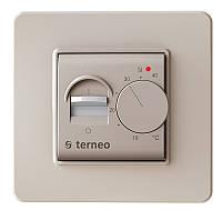 Терморегулятор механический (ручной) для теплого пола Terneo mex (слоновая кость)