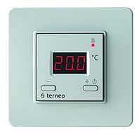 Цифровой терморегулятор для теплого пола Terneo st (белый)