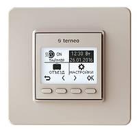Программируемый терморегулятор Terneo pro слоновая кость