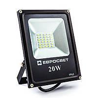 Прожектор светодиодный (LED) ES-20-01 95-265V 6400K 1100Lm SMD Евросвет
