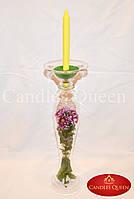 Ваза для цветов- ваза-подсвечник