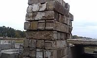 Блоки фундаментные  б/у