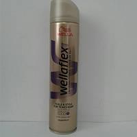 Лак для волос Wellaflex 250 мл. (Велла Флекс обьем суперсильная фиксация)