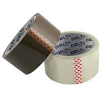 Лента клейкая упаковочная, 48 мм х 100 ярд,D3032-02,корич