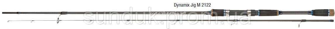 Спиннинг Konger Dynamix Jig M 232см (5-21гр)