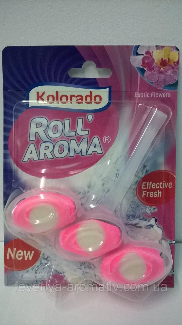 Туалетный блок Kolorado Roll' Aroma Exotic Flowers