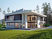 проект двухэтажного дома Hd35