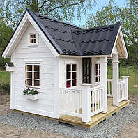 Деревянные детские домики