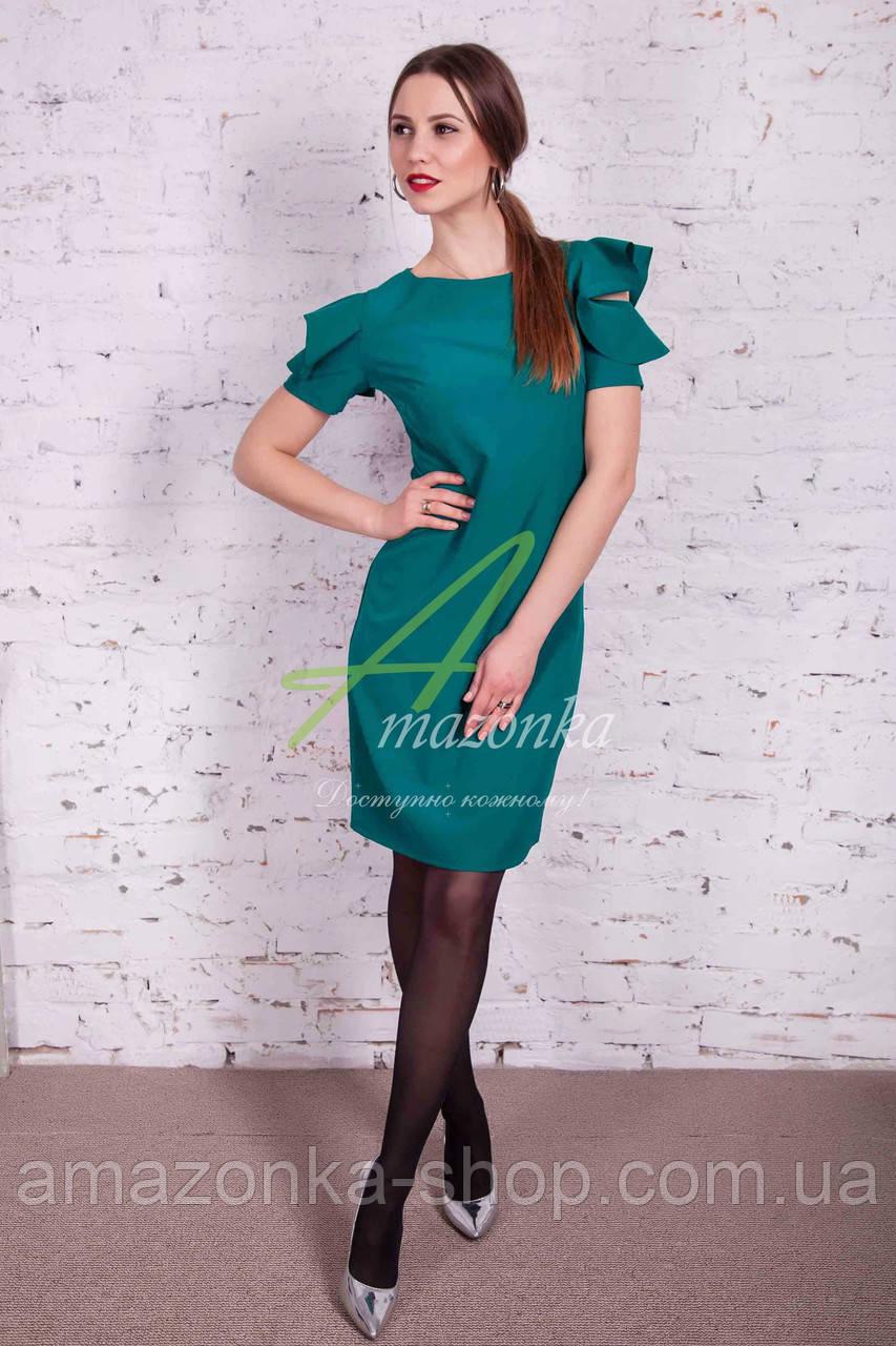 Элегантное женское платье от производителя - весна 2017 - Код пл-130