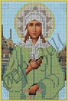 Схема для вышивки бисером Св. Блаженная Ксения Петербургская КМИ 5130
